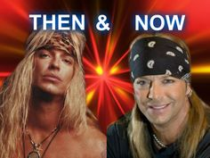 Bret Michaels Photo: Then And Now Bret Michaels Poison, Bret Michaels Band, Hair Metal Bands, 80s Hair Bands, Glam Rock Bands, Celebrities Then And Now, Picture Albums, Stars Then And Now, Let Your Hair Down