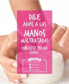 Como cuidar las manos maltratadas y agrietadas,con la ayuda de esta crema casera podrás devolverle suavidad y juventud a tus manos,prepararla es muy sencill