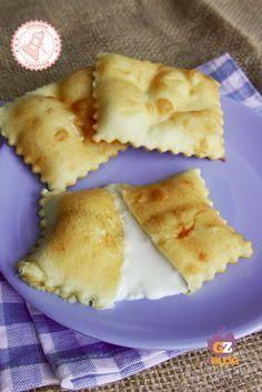 FOCACCETTE DI RECCO al formaggio ricetta ligure no lievito
