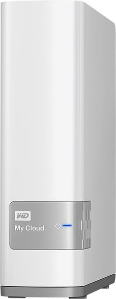 WD - My Cloud 2TB External Hard Drive (NAS) - White, WDBCTL0020HWT-NESN