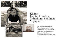 Kleine Knotenkunde - Münchens schönste Yogaplätze