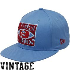 New Era Philadelphia Phillies Light Blue 9FIFTY Diamond Snapback Adjustable Hat