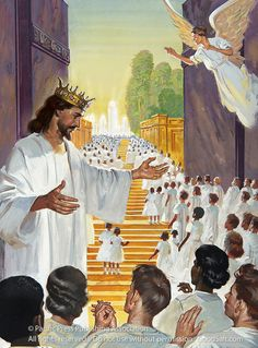 page for jesus as king art and photography 239 total images Pictures Of Jesus Christ, Bible Pictures, Image Jesus, Heaven Art, Jesus Second Coming, Christian Pictures, Jesus Painting, Christ The King, Prophetic Art
