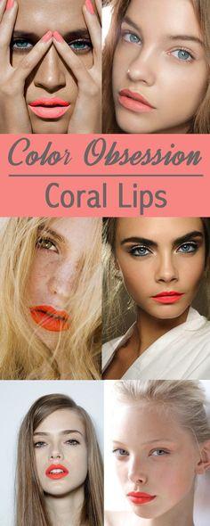 Lippenstift-Farbe für den Frühlings - Farbtyp!  Koralle (Farbpassnummer 35) Kerstin Tomancok / Farb-,Typ-,  Stil & Imageberatung