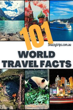 101 World Travel Facts - After searching far and wide I've collated a plethora of random world trivia facts I'm going to share with you. Here you'll find all sorts of interesting information on different countries, people, languages, food, wildlife, flying, tourism and so much more. So let's have some fun and dive into these 101 gobsmacking world travel facts to fuel your wanderlust and thirst for knowledge. #travelfacts #worldtrivia #worldfacts #worldtravel #snazzytrips Travel Reviews, Travel Articles, Travel Advice, Travel Guides, Travel Tips, Budget Travel, Oregon, Arizona, Bag Essentials