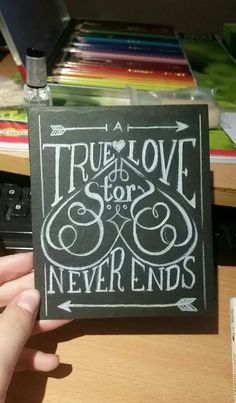 A card I drew myself. :D
