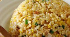 パラパラチャーハンを作る裏ワザ!お米を炒めて炊くだけ♪炊いてる間におかずやスープも作れます♪2012.7.12訂正あり。