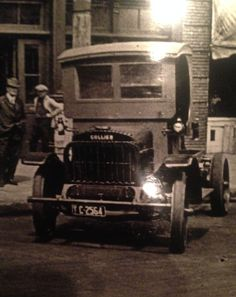 Collier Truck at Fred A. Bennett Distributor in Los Angeies California  ( Collier Dealership)