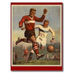 Vintage sport postcards