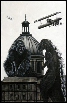 FRATERNITÉ: Orient VS. Occident 2014 technique mixte sur panneau 153 x 100 cm