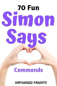 Simon Says is a fun game children love to play. Here are 70 Simon Says game ideas and commands for preschool children that are funny and also educational. Listening Activities For Kids, Listening Games, Educational Activities For Preschoolers, Social Emotional Activities, Movement Activities, Physical Education Games, Music Activities, Fun Activities For Kids, Preschool Learning