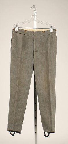 Trousers, Victorian Gentleman's Pants, 1890's