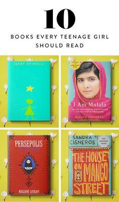 10 Books Every Teenage Girl Should Read  via @PureWow