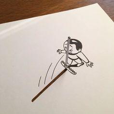 L'artiste danois HuskMitNavn arrive à créer des dessins en 3D avec simplement des feuilles de papier et un crayon noir. Le résultat est bluffant! En français, «HuskMitNavn» signifie «Souviens-toi de mon nom». Et il faudra bien se...