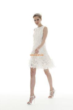 Garten / Outdoor 3/4 Arm Reißverschluss Brautkleider 2014