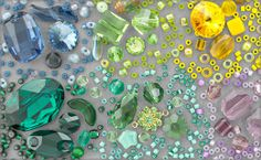 Pantone Spring 2013 Beads, Charms and Components | Fusion Beads Picks