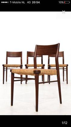 Eetkamer stoelen die we hebben gekocht