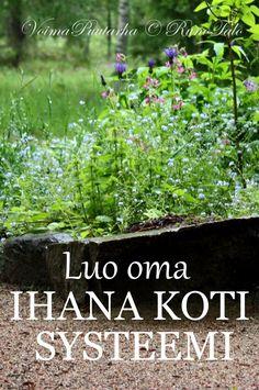 RunoTalon voimapuutarha: Luo oma IHANA KOTI systeemi Herbs, Herb, Medicinal Plants