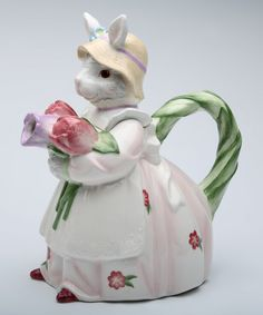 Loving this Spring Bunny Teapot on #zulily! #zulilyfinds