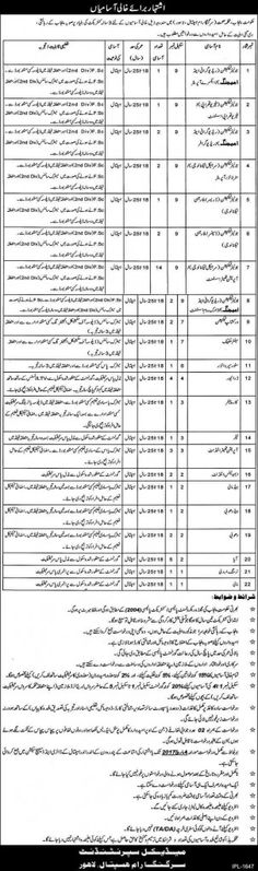 Last Date :04th March, 2017 Location : Lahore Organization : Sir Ganga Ram Hospital Education Required : FSc, Matric, Middle, Relevant Diploma Here we have fresh job advertisement from Sir Ganga Ram Hospital Lahore Jobs 2017 Health Department Punjab Contract Basis. For all the domicile holder of Lahore its great job opportunity to get employed in the one of the most prominent hospital name as Sir Ganga Ram Hospital Lahore intend to hire the service of well disciplined, dynamic, experienced…
