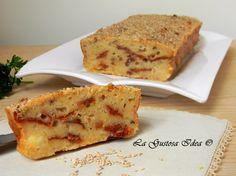 Plumcake rustico con pomodori secchi, una vera bontà!