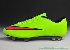 sports shoes 2ab5f 6888e Masculino Verde Nike Mercurial Vapor X FG onde comprar chuteiras