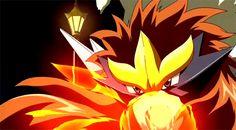 Pokemon Gifs - Entei