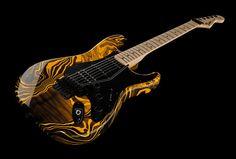 Fender Stratocaster Yellow Swirl FSR - Thomann France