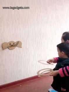 DIY Kids Games and Activities👉 – Sabine Beyer Paper Crafts For Kids, Easy Crafts For Kids, Toddler Crafts, Diy For Kids, Toddler Learning Activities, Infant Activities, Preschool Activities, Kids Learning, Amusement Enfants
