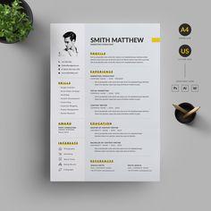 Resume/CV by Reuix Studio on Letterhead Design, Resume Design Template, Cv Template, Resume Templates, Design Resume, Best Resume, Resume Cv, Web Designer Resume, Cv Design