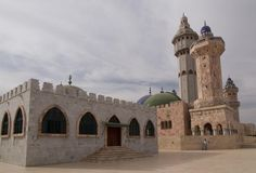 The great mosque in Senegal