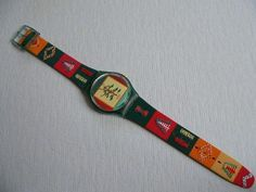 Poncho GM122 Swatch Watch