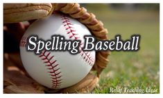 Spelling Baseball - a spelling revision game