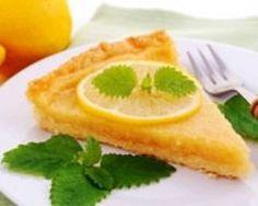 Tarte au citron allégée