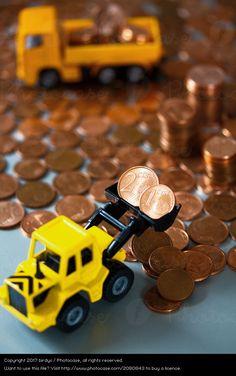 Foto '1-und 2 Centmünzen entsorgen' von 'birdys'