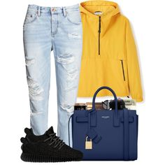 A fashion look from April 2016 featuring adidas Originals sneakers, Yves Saint Laurent handbags and Versace watches. Browse and shop related looks.