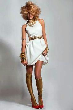 Glamour uk march jennifer lopez stunning with dolce - Casta diva parrucchieri ...