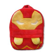 3D The Avengers Plush Backpacks Toys for kids 2016 New Ironman Superman Spiderman Batman doll plush schoolbag mochila 80's hwd