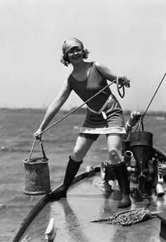 Flapper at sea!