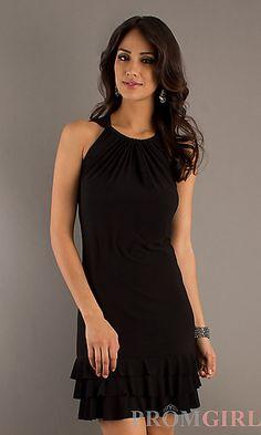 Little Black Dress at PromGirl.com  JU-TI-82184