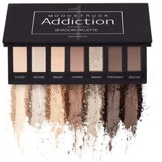 Moodstruck Addiction Shadow Palette Take it from serene to extreme with seven crease-resistant, fade-resistant, long-wearing, buildable colors. Makeup Eyeshadow