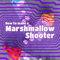 Make A Homemade Tiny Marshmallow Shooter
