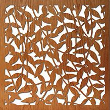 Photos Of Laser Cut Wood Panels