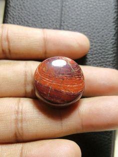 Natural Snakeskin Jasper Round, Smooth Round Cabochon, Gemstone- 24x24x8 MM Size Round Shape  Loose Gemstone-Jewellery Supply-Wholesalegems