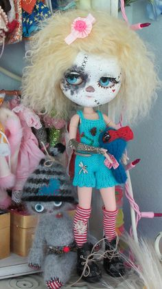 LULU'S NEW OUTFIT by Art Dolls of Kaerie Faerie, via Flickr