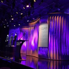 Show ready. #cdga18 #stageset #stage #design
