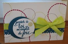 """Carte """"Palais Oriental"""" by CindraScrap - Stampin'Up! 2017-2018"""
