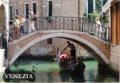 Rio di San Canciano Postcard from Massimo in Venice, Italy