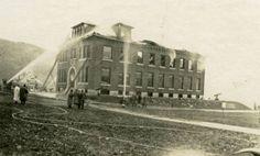 Dewey Hall fire, 1925