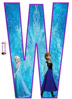 Frozen: Free Elsa and Ana Alphabet. Frozen: Bello Alfabeto Gratis de Elsa y Ana. Frozen Birthday Party, Sofia The First Birthday Party, Frozen Theme Party, Birthday Themes For Boys, Birthday Party Themes, Happy Birthday, Monogram Alphabet, Alphabet And Numbers, Diy Crafts For 5 Year Olds